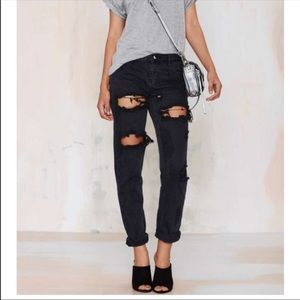 One teaspoon baggy boyfriend jeans